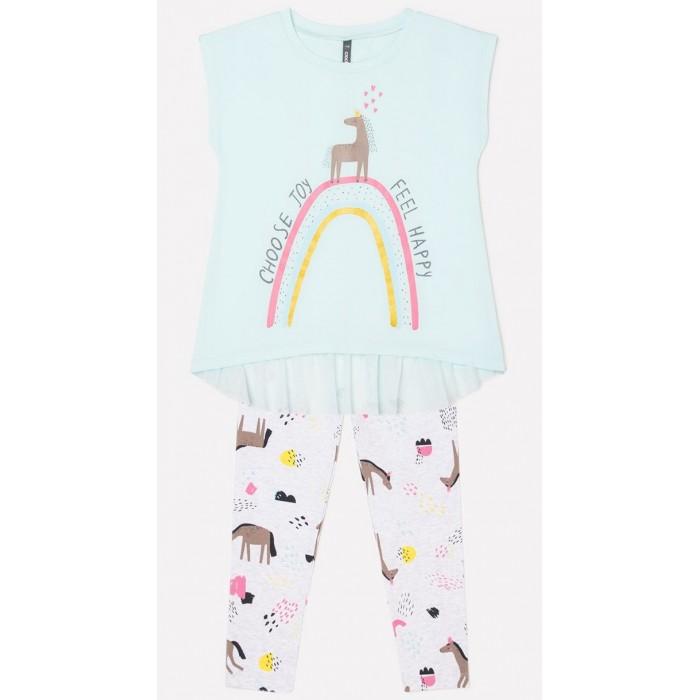 Crockid  Комплект для девочки: футболка и лосины
