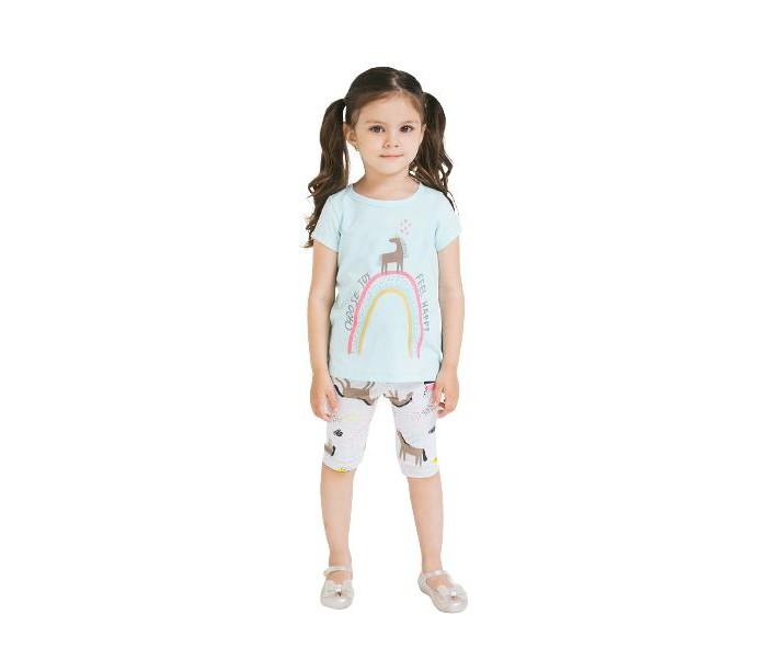 Crockid  Комплект для девочки: футболка и велосипедки