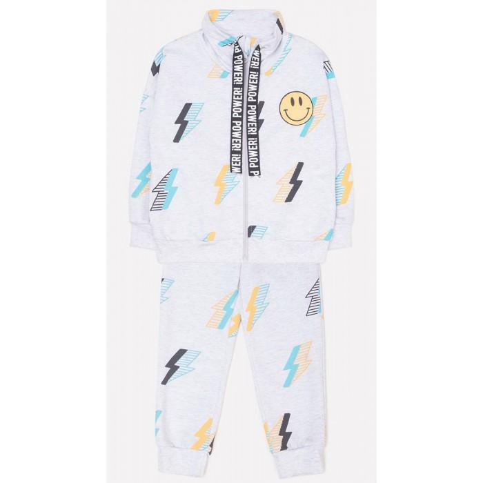 Купить Комплекты детской одежды, Crockid Комплект для мальчика: бомбер и брюки Молнии
