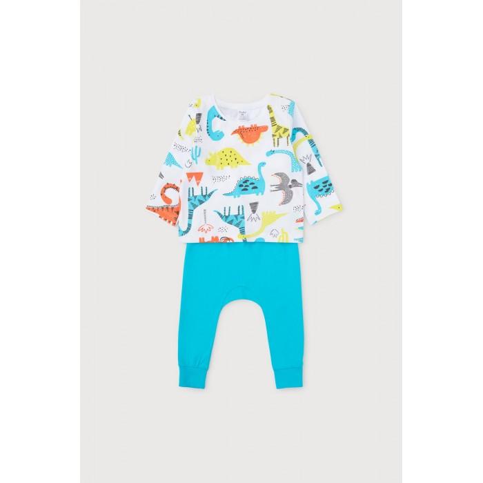 Фото - Комплекты детской одежды Crockid Комплект для мальчика (джемпер и брюки) Динозавры К 2760 комплекты детской одежды pelican комплект для мальчиков джемпер брюки bfajp1203