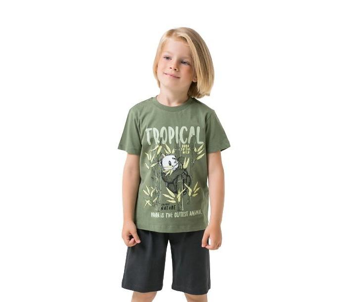 Crockid  Комплект для мальчика (футболка, шорты) К2756