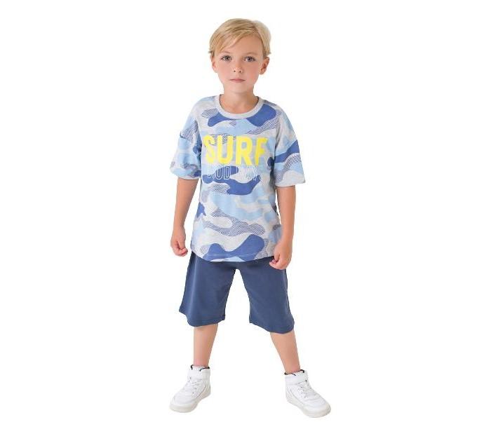 Crockid  Комплект для мальчика (футболка, шорты) Космос К2752