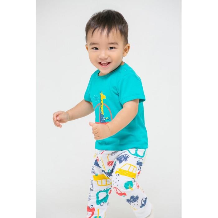 Комплекты детской одежды Crockid Комплект для мальчика (футболки и брюки) Машинки К 2737