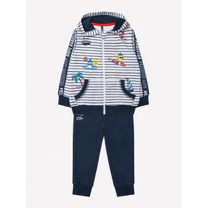 Crockid  Комплект для мальчика (толстовка и штаны) КР 2654
