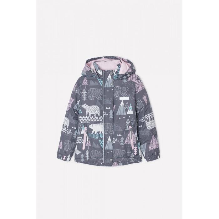 Crockid  Куртка зимняя для девочки Мишки ВК 38049