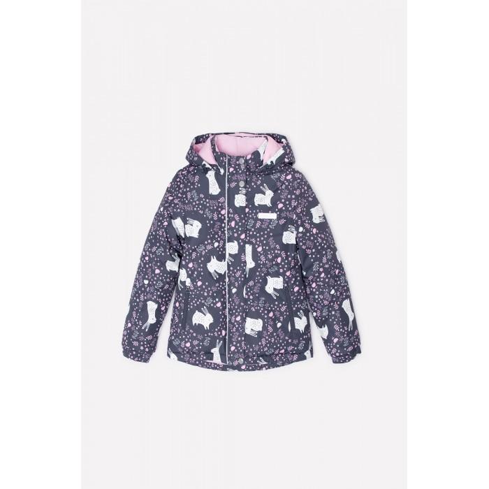 Верхняя одежда Crockid Куртка зимняя для девочки Зайчики ВК 38049