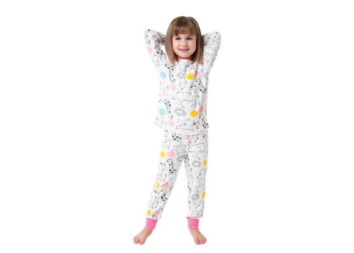 Фото - Домашняя одежда Crockid Пижама для девочки Веселый праздник К 1552 домашняя одежда веселый малыш пижама для девочки терьер