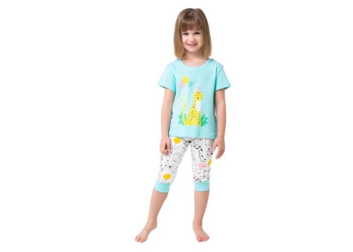 Фото - Домашняя одежда Crockid Пижама для девочки Веселый праздник Леопард К 1536 домашняя одежда веселый малыш пижама для девочки терьер