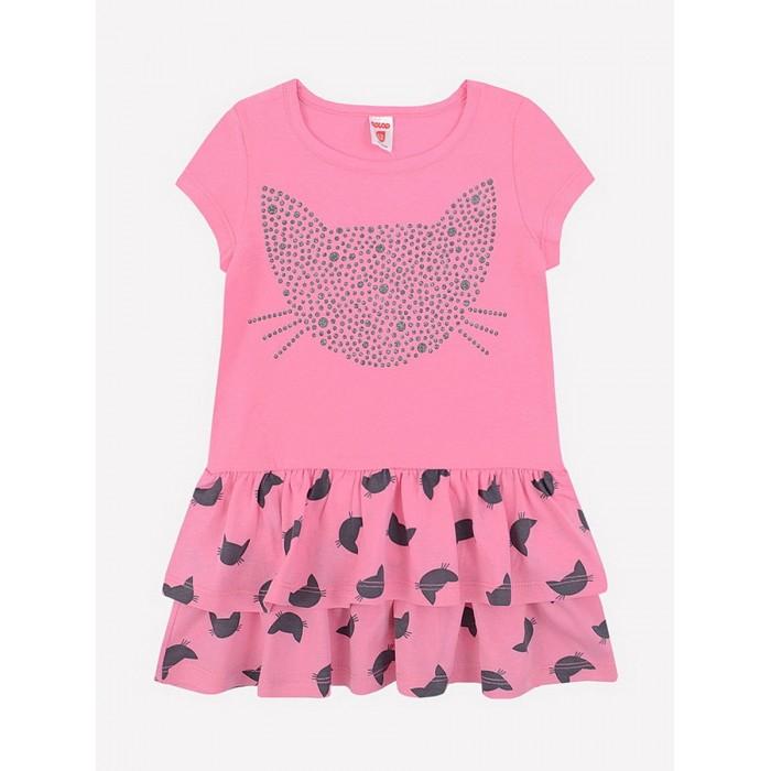 Платья и сарафаны Crockid Платье для девочки Кошки К 5596