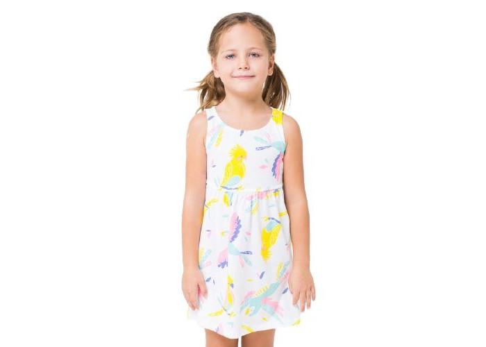 Платья и сарафаны Crockid Платье для девочки Попугайчики К 5589