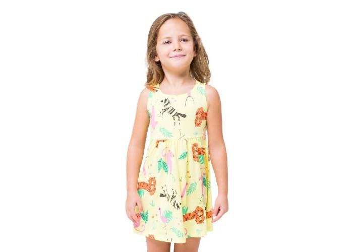 Crockid  Платье для девочки Звери саванны К 5589