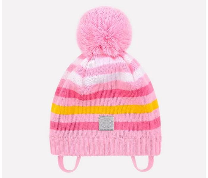 Шапки, варежки и шарфы Crockid Шапка для девочки КВ 20125