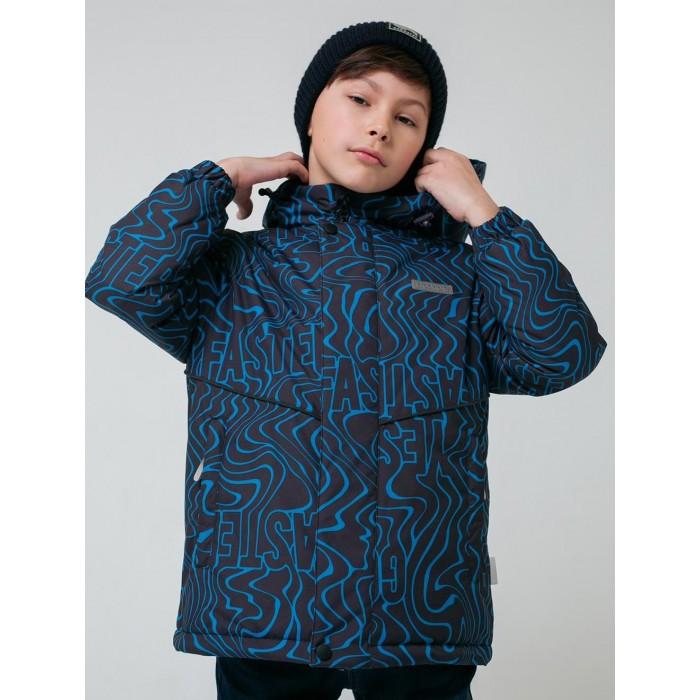 Верхняя одежда Crockid Утепленная куртка для мальчика Волны