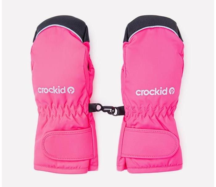 Шапки, варежки и шарфы Crockid Утепленные рукавицы ВК 10003