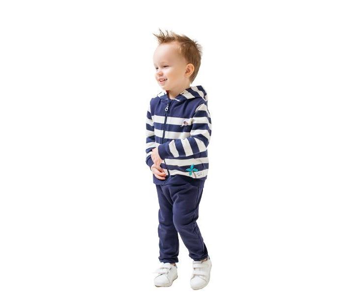 Купить Толстовки и свитшоты, Crockid Жакет для мальчика Полоска КР 301228