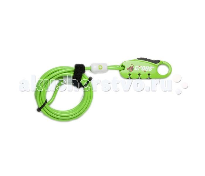Аксессуары для велосипедов и самокатов Crops Велозамок SPD 07 - Q4 deroace велосипедный цепной стальной замок для электрокара электро мотороллера мотора
