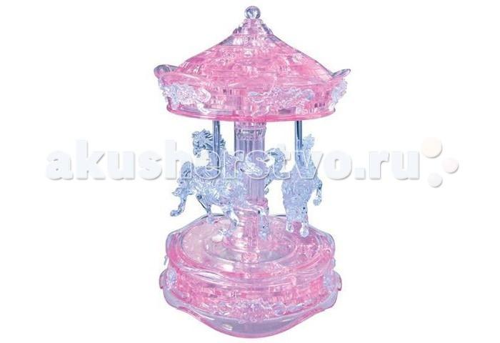 Пазлы Crystal Puzzle 3D головоломка Карусель (83 детали) пазлы crystal puzzle 3d головоломка эйфелева башня 96 деталей