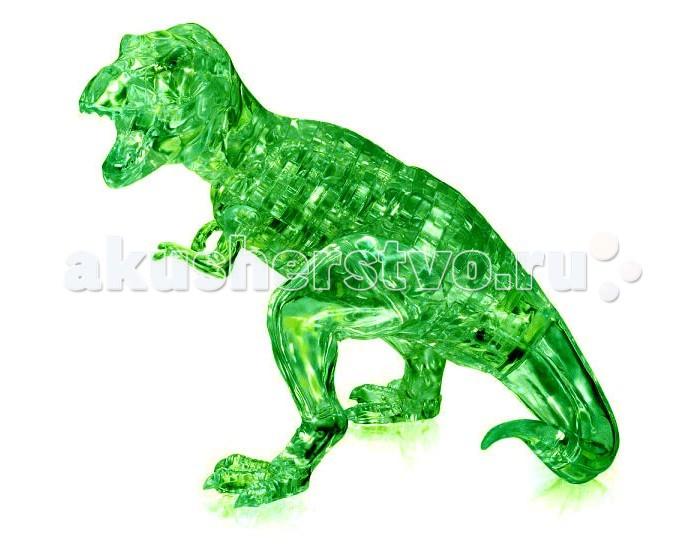 Пазлы Crystal Puzzle Головоломка Динозавр T-Rex (49 деталей) пазлы crystal puzzle головоломка дельфин