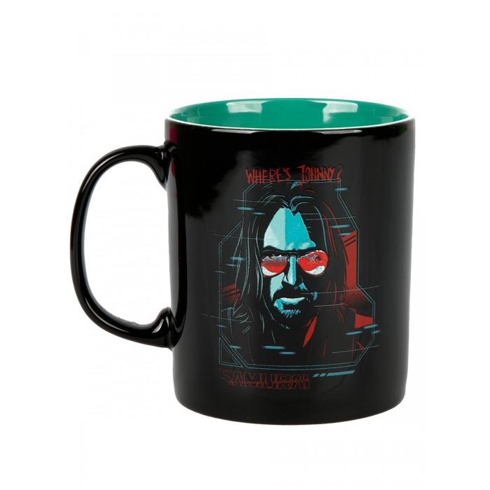 Купить Посуда и инвентарь, Cyberpunk 2077 Кружка Digital Ghost керамическая 325 мл