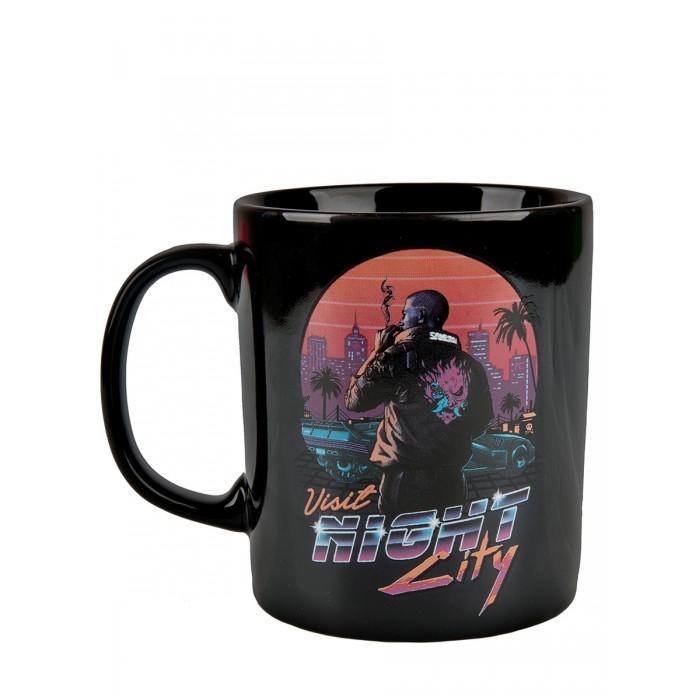 Купить Посуда и инвентарь, Cyberpunk 2077 Кружка Night City Sunset керамическая 325 мл