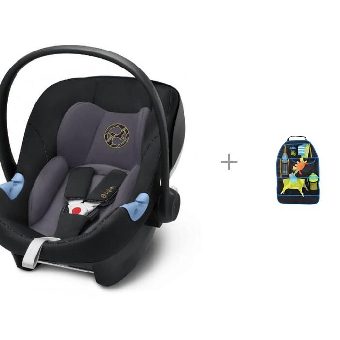 Автокресло Cybex Aton M i-Size с органайзером для автомобиля BabyOno