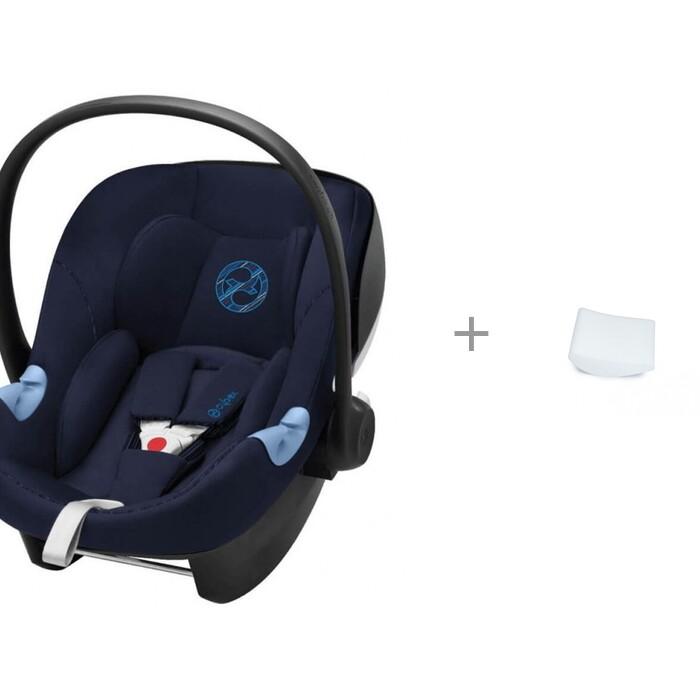 Купить Группа 0-0+ (от 0 до 13 кг), Автокресло Cybex Aton M i-Size и Вкладыш АвтоБра для новорожденного в детское автокресло