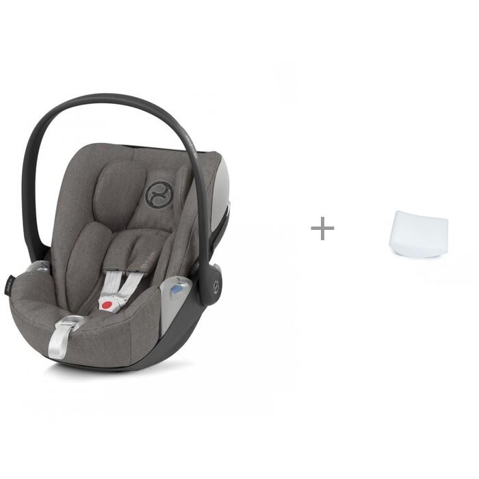 Купить Группа 0-0+ (от 0 до 13 кг), Автокресло Cybex Cloud Z i-size Plus и АвтоБра вкладыш для новорожденного в детское автокресло