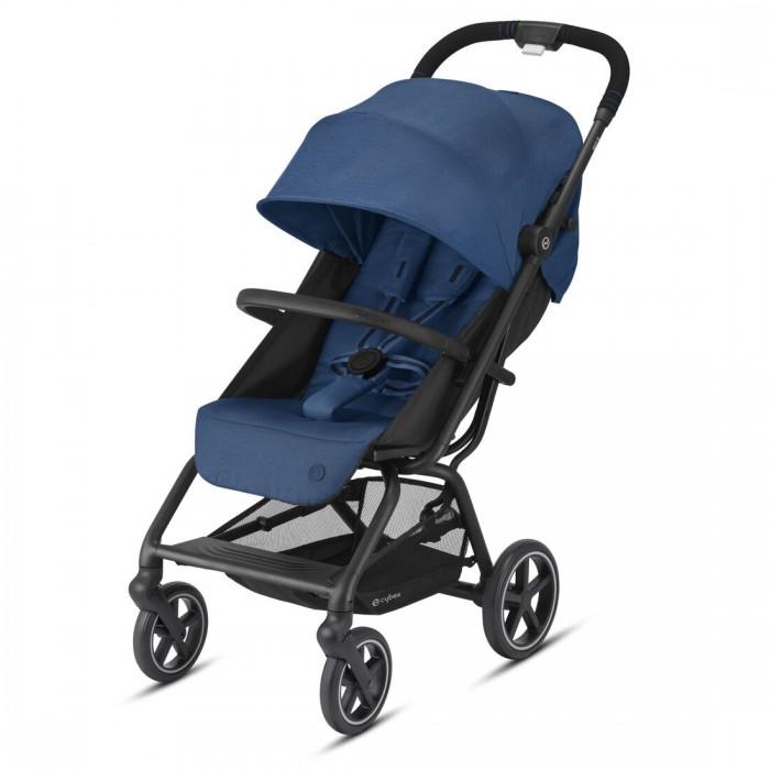 Купить Прогулочные коляски, Прогулочная коляска Cybex Eezy S+ 2 BLK с дождевиком и бампером