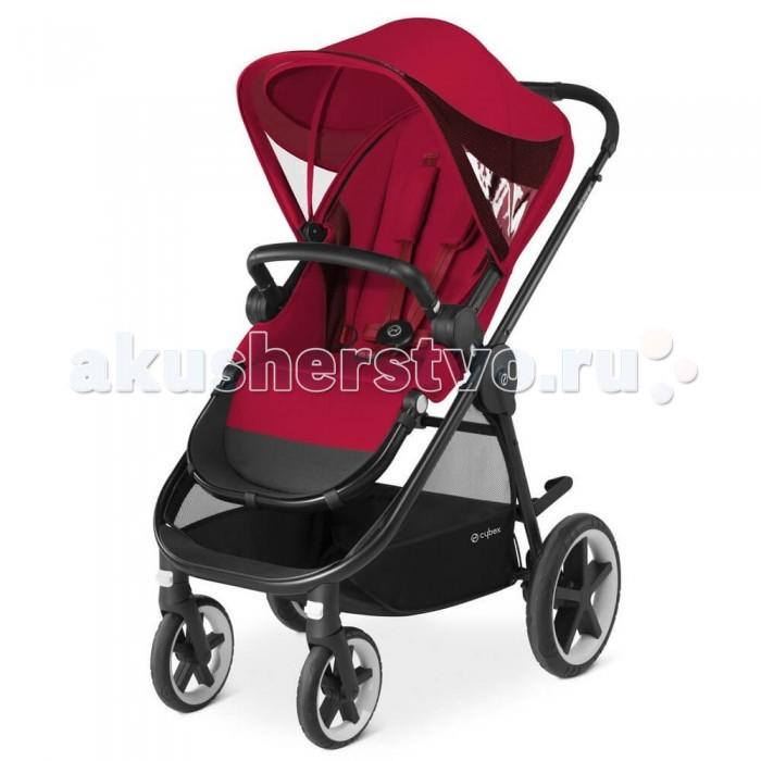 Прогулочная коляска Cybex Balios MBalios MПрогулочная коляска Cybex Balios M с возможностью установки люльки для новорожденного и автокресла группы 0+.   Полноценная система для путешествий! Прогулочный блок может быть установлен лицом к маме и от мамы. Колёса большого диаметра и пружинная подвеска позволяют гулять и в городе, и в лесу.  Капюшон большого размера может быть дополнительно увеличен для максимальной защиты малыша. Покрытие капора имеет ультрафиолетовую защиту UV50+.  Бампер для рук ребенка уже входит в комплект. Для посадки малыша в коляску нет необходимости снимать его с коляски - просто отведите в сторону и всё!  Независимо регулируемая подножка для большего комфорта на прогулке.  Особенности: Передние колёса поворотные с возможностью фиксации Регулируемая по высоте ручка с мягким покрытием Внутренние регулируемые 5-ти точечные ремни безопасности. Отличительная особенность всех колясок Cybex - возможность застёгивать внутренние ремни поочередно, а не складывая вместе! Вместительная корзина для покупок, игрушек и других полезных мелочей Колёса большого диаметра с дополнительной амортизацией для комфортной прогулки по любой дороге Сверхпрочное усиленное алюминиевое шасси Смотровое окошко-сеточка в капюшоне для контроля за ребенком Возможность установки люльки для новорожденных и автокресла группы 0+ (приобретаются отдельно) Коляска Cybex Balios M складывается одной рукой В сложенном состоянии коляска стоит без дополнительной опоры Колёса ненадувные и не боятся проколов Замок для фиксации коляски в сложенном состоянии Тормоз на задних колесах активируется простым нажатием ногой Удобная рама для родителей большого роста (тормоз не задевается ногами.  Размеры коляски: Диаметр колёс передние 20 см, задние 29 см Размер в сложенном состоянии (с колесами): 37 х 57 х 84 см Размер в сложенном состоянии (без колес): 37 х 47 х 84 см Вес 11 кг<br>