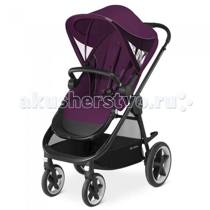 Прогулочная коляска Cybex Balios MBalios MПрогулочная коляска Cybex Balios M с возможностью установки люльки для новорожденного и автокресла группы 0+.   Полноценная система для путешествий! Прогулочный блок может быть установлен лицом к маме и от мамы. Колёса большого диаметра и пружинная подвеска позволяют гулять и в городе, и в лесу.  Капюшон большого размера может быть дополнительно увеличен для максимальной защиты малыша. Покрытие капора имеет ультрафиолетовую защиту UV50+.  Бампер для рук ребенка уже входит в комплект. Для посадки малыша в коляску нет необходимости снимать его с коляски - просто отведите в сторону и всё!Независимо регулируемая подножка для большего комфорта на прогулке.  Особенночти: Передние колёса поворотные с возможностью фиксации Регулируемая по высоте ручка с мягким покрытием Внутренние регулируемые 5-ти точечные ремни безопасности. Отличительная особенность всех колясок Cybex - возможность застёгивать внутренние ремни поочередно, а не складывая вместе! Вместительная корзина для покупок, игрушек и других полезных мелочей Колёса большого диаметра с дополнительной амортизацией для комфортной прогулки по любой дороге Сверхпрочное усиленное алюминиевое шасси Смотровое окошко-сеточка в капюшоне для контроля за ребенком Возможность установки люльки для новорожденных и автокресла группы 0+ (приобретаются отдельно) Коляска Cybex Balios M складывается одной рукой В сложенном состоянии коляска стоит без дополнительной опоры Колёса ненадувные и не боятся проколов Замок для фиксации коляски в сложенном состоянии Тормоз на задних колесах активируется простым нажатием ногой Удобная рама для родителей большого роста (тормоз не задевается ногами.  Размеры коляски: Диаметр колёс передние 20 см, задние 29 см. Размер в сложенном состоянии (с колесами): 37 х 57 х 84 см. Размер в сложенном состоянии (без колес): 37 х 47 х 84 см. Вес 11 кг.<br>