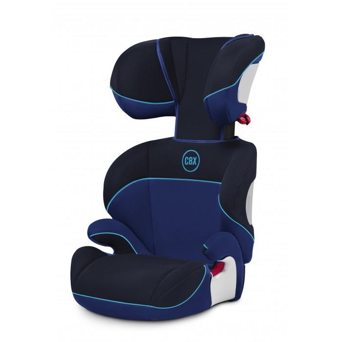Автокресло Cybex CBX SolutionCBX SolutionАвтокресло Solution CBX относится к группе 2/3 и может быть использовано для перевозки ребенка с 3,5 до 10-12 лет.  Кресло устанавливается только по направлению движения (лицом вперед). Крепление - штатными 3-х точечными ремнями безопасности автомобиля.  Для максимального комфорта кресло имеет запатентованный подголовник, который регулируется в 3-х положениях.  Подголовник регулируется по высоте в 7 положениях.  Положение спинки регулируется по наклону в зависимости от угла наклона спинки в вашем автомобиле.  Дополнительный ящик для хранения инструкции позволит всегда держать её под рукой.  По мере роста ребенка автокресло превращается в бустер.  Автокресло соответствует последнему стандарту безопасности ECE R44/04.  Обивка автокресла съемная и может стираться в стиральной машине в режиме Бережная стирка при температуре 30 градусов. Процесс съема чехла с автокресла занимает очень мало времени - чехол закрепляется кнопками и резинками.  предназначено для детей: возрастной группы 2-3 (от 15 до 36 кг), от 3 до 12 лет, с роста 100 см;  крепление: ребёнок вместе с креслом крепится ремнем безопасности автомобиля;  направление установки: по ходу движения автомобиля;  безопасность: кресла соответствует Европейскому стандарту ЕСЕ R44/04. В независимых краш-тестах ADAC (Германия) 2006 года получило оценку «Gut» (Хорошо);  ребёнок вместе с креслом фиксируется штатным автомобильным ремнём;  ремень безопасности проходит через подлокотники и специальную направляющую в подголовнике и ложится на плечо, а не на шею;  наклон спинки регулируется под наклон автомобильного сиденья;  ручка для переноски (в подголовнике);  подголовник регулируется по высоте с фиксацией в 7 положениях;  подголовник регулируется по глубине, чтобы голова ребёнка не западала вперёд во время сна;  вентиляционные отверстия в спинке для циркуляции воздуха;  внутренняя обивка кресла выполнена из синтетических материалов. Чехол можно снять и постирать при  температуре до 30