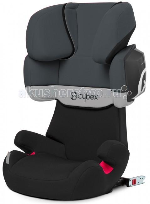 Автокресло Cybex Solution X2-FixSolution X2-FixАвтокресло Cybex Solution X2-Fix - максимально безопасное автокресло для ребенка от 3,5 лет. Все технологии и разработки компании Cybex воплощены в этой модели!  Максимальная безопасность достигается засчет крепления Isofix* и новой технологии L.S.P. (Линейной защитой от боковых ударов). Система L.S.P. создает эффект боковой подушки безопасности и делает кресло еще безопаснее для боковых ударов.  Особенности:  Автокресло устанавливается в машине только лицом по ходу движения. Ребенок в нём крепится штатными 3-х точечными ремнями безопасности.  По мере роста ребенка кресло растёт вместе с ним - подголовник вместе с плечевой защитой регулируются в 11 положениях по высоте.  Регулируемый угол наклона спинки позволит ребенку путешествовать в удобном положении. Угол наклона можно регулировать при помощи наклона спинки сиденья автомобиля или выдвигания крепления Isofix.  Когда Ваш ребенок вырастет до 8-9 лет и спинка автокресла станет ему мала её можно отстегнуть и превратить автокресло в бустер.  Автокресло соответствует последнему стандарту безопасности ECE R44/04.  Обивка автокресла съемная и может стираться в стиральной машине в режиме Бережная стирка при температуре 30 градусов. Процесс съема чехла с автокресла занимает очень мало времени - чехол закрепляется кнопками и резинками.  При необходимости автокресло можно использовать в автомобилях и без системы Isofix.  Размеры автокресла (внешние):  глубина 45 см;  ширина 47 см;  высота 66-82 см.  Вес 7 кг.<br>