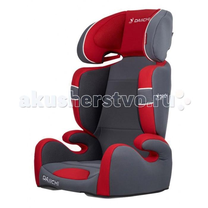 Автокресло Daiichi Sporty JuniorSporty JuniorАвтокресло Daiichi Sporty Junior создано для комфортной и безопасной перевозки детей возрастом от 3 до 10—12 лет. Детское автокресло Sporty Junior идеально подойдет для дальних поездок, так для коротких по городу. Тройная защита по периметру обеспечивает высокий уровень безопасности, в том числе и в случае бокового удара. Съемная спинка может превратить автокресло в удобный бустер.  Детское автокресло Daiichi Sporty Junior устанавливается на заднем сиденье автомобиля, по ходу движения. Крепление кресла в салоне осуществляется при помощи штатных, трехточечных ремней. Ремни пропускаются под подлокотниками и в направляющей подголовника. Для избежания ошибок при установке, все места проводки ремня изготовлены из пластика красного цвета.  Спинка автокресла Daiichi Sporty Junior регулируется по углу, что позволяет правильно установить детское кресло на автомобильное сиденье любой формы. По мере роста ребенка, спинку можно полностью снять с автокресла и превратить его в бустер.  Сидение: каркас - упрочненный пластик обивка - органический хлопок/Aerocool возраст от 3 до 10 лет (15-36 кг) рост до 125 см регулировка наклона - до 90 градусов регулировка высоты подголовника - 7 положений защита от боковых ударов съемный чехол использование в качестве сиденья-бустера со спинкой: вес 15-25 кг использование в качестве сиденья-бустера без спинки: вес 22-36 кг  Размер - 43 х 38 х 82 см Вес - 4.2 кг Ширина в плечах внутренняя/внешняя - 28/34 см Ширина сиденья - 35 см<br>