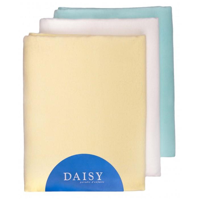 Пеленки Daisy фланель 3 шт. 90х120 см пеленки эдельвейс набор 90х120 см трикотаж футер 3 шт