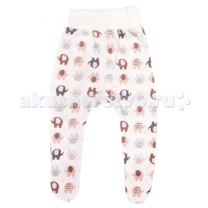 Ползунки Daisy Ползунки Слоники ползунки трикотажные на 0 9 месяцев