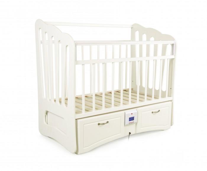 Купить Детские кроватки, Детская кроватка Daka Baby Укачай-ка 06 Валенсия (поперечный маятник)