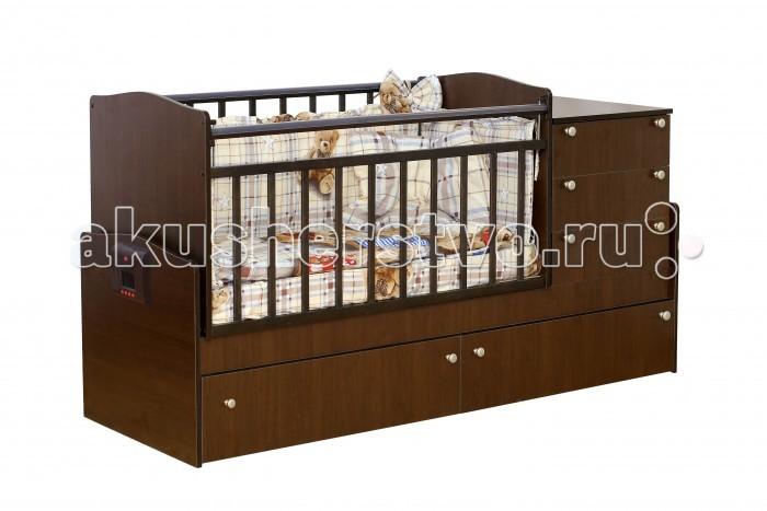Кроватка-трансформер Daka Baby Укачай-ка 02 (поперечный маятник)