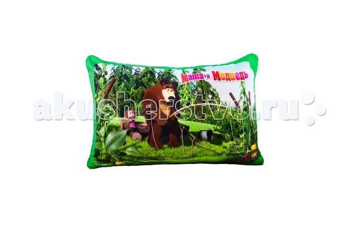 Подушки для малыша Маша и Медведь Игрушка антистресс Подушка на хедере смолтойс подушка игрушка маша и медведь 664150