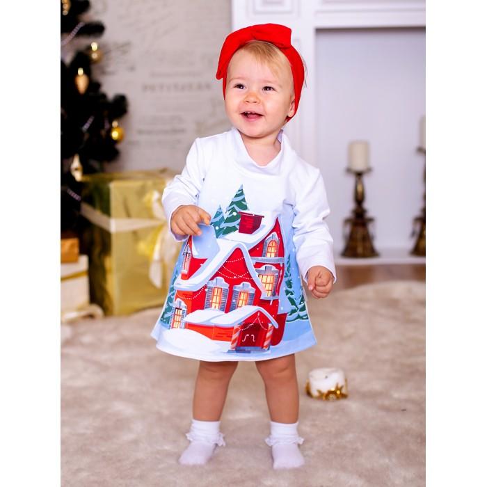 Картинка для Дашенька Платье новогоднее Зимний домик