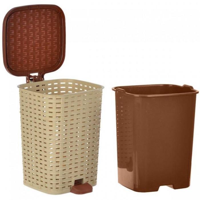 Хозяйственные товары Ddstyle Ведро для мусора Элефант плетенка 26 л