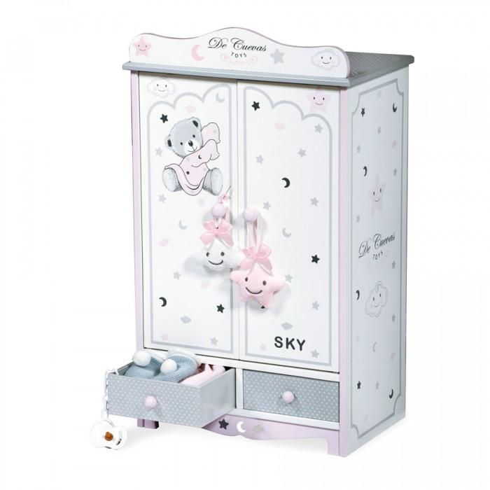 Кукольные домики и мебель DeCuevas Гардеробный шкаф для куклы Скай 54 см