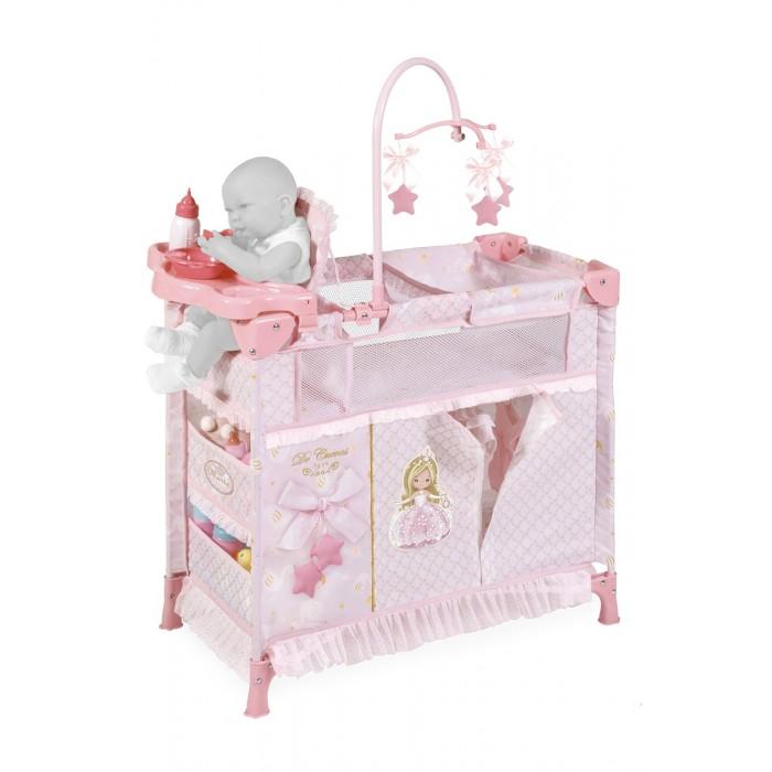 Кроватка для куклы DeCuevas игровой центр Мария 70 см