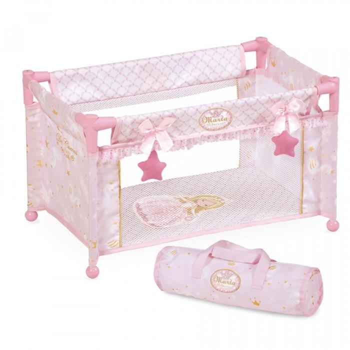 Фото - Кроватки для кукол DeCuevas манеж Мария 50 см кроватки для кукол decuevas с аксессуарами мария 55 см