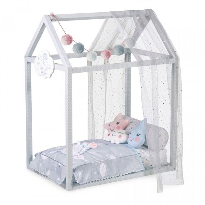 Купить Кроватки для кукол, Кроватка для куклы DeCuevas с аксессуарами Мартин 83 см