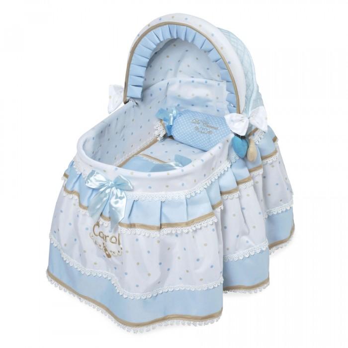 Кроватка для куклы DeCuevas с козырьком Кэрол 46 см