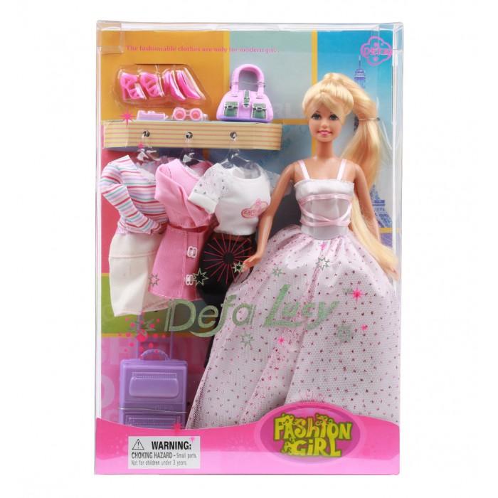 Куклы и одежда для кукол Defa кукла с аксессуарами 28 см defa toys кукла lucy happy wedding цвет платья розовый