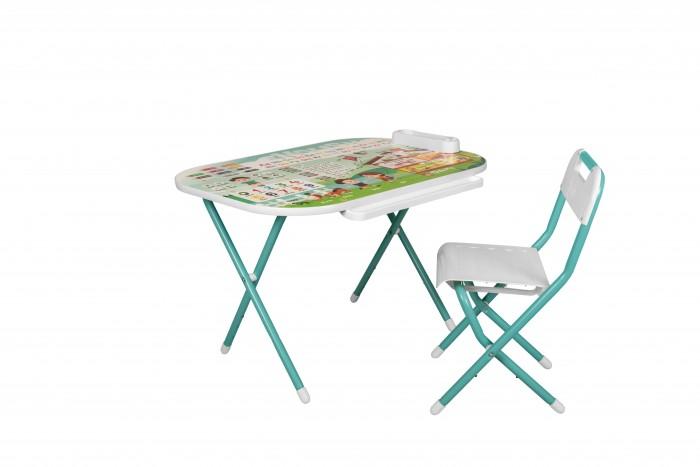 Детские столы и стулья Дэми Набор мебели № у2р/1 Дошколёнок Английский