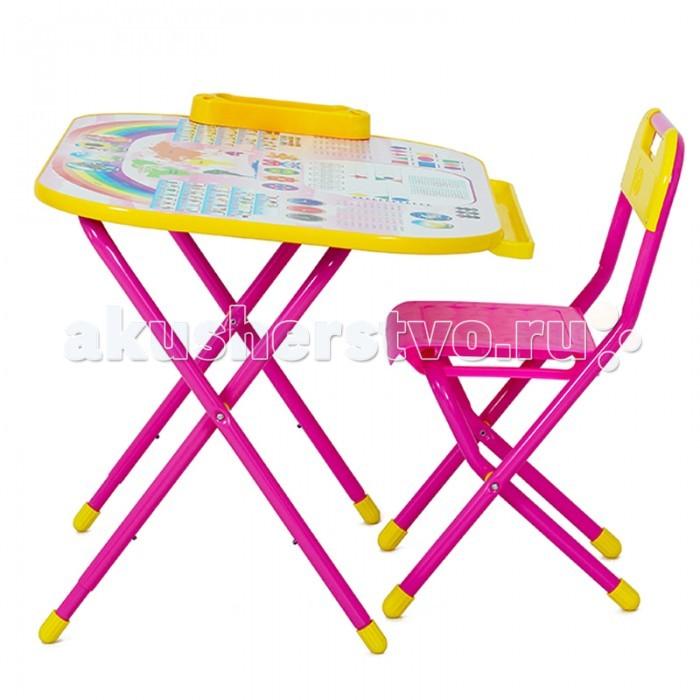 Детские столы и стулья Дэми Набор мебели №у2р/1 Дошкольник - Блокнот набор мебели дэми дэми 1 король лев синий кл