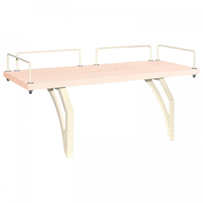 Аксессуары для мебели Дэми Полка задняя СУТ.14.210 (клен) школьные парты дэми стол универсальный трансформируемый сут 17 столешница клен