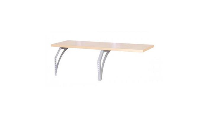 Аксессуары для мебели Дэми Полка навесная СУТ СУТ 14.290 (клен) школьные парты дэми стол универсальный трансформируемый сут 17 столешница клен